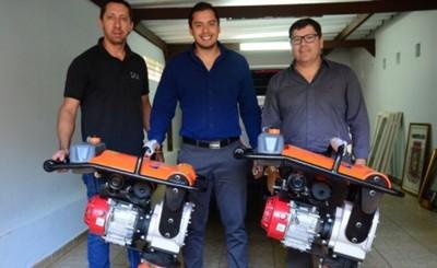 Municipalidad recibió en donación máquinas compactadoras