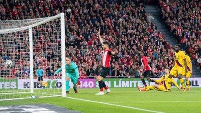 El Athletic de Bilbao deja fuera de la Copa del Rey al Barcelona
