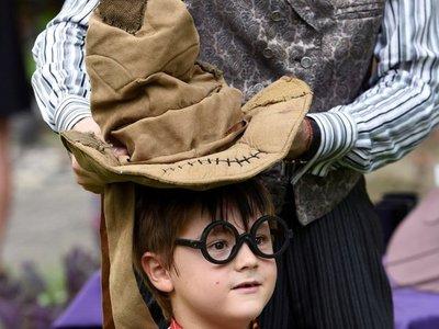 Cientos de magos por un día para celebrar la saga Harry Potter