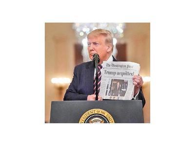 Trump celebra su absolución con un discurso vengativo