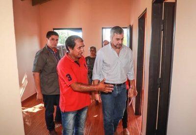 Inauguran 136 viviendas sociales en Caaguazú