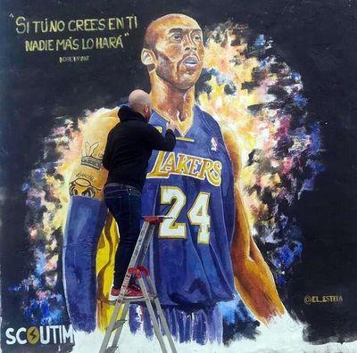 Homenajearán a Kobe Bryant con un mural
