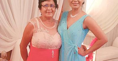 Lorena Azucas recordó a su mami fallecida
