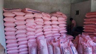 Incautan casi dos mil kilos de azúcar de dudosa procedencia