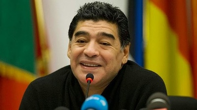 La FIFA prohíbe el ingreso a los estadios a Diego Maradona