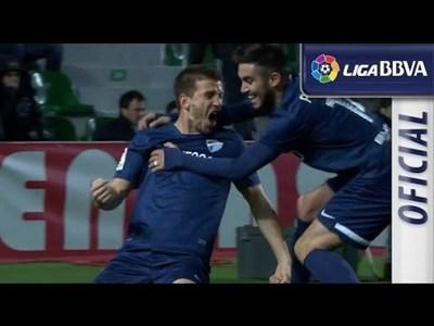 Elche vs Malaga (0-1) Resumen y Goles (Copa del Rey 2013-2014)