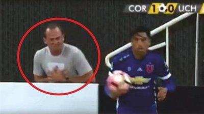 """¡Insólito! Pasapelotas simula agresión """"al estilo Neymar"""" (Vídeo)"""