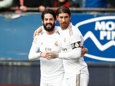Real Madrid sigue en la cima con una goleada