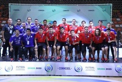 Paraguay completa el podio de los mejores