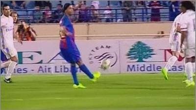 La magia de Ronaldinho sigue intacta ¡Calcó el golazo de Guily al Milan!
