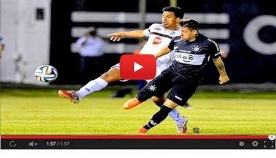 General Diaz vs Olimpia (1-1) Goles Resumen Resultado Clausura 2014