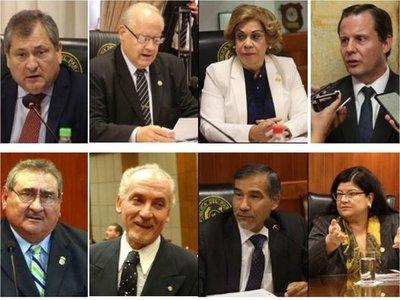 Con el cambio de postura, ahora son 7 candidatos a presidir la Corte