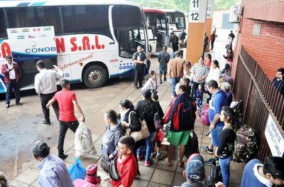 Desinfectarán buses para evitar dispersión del virus
