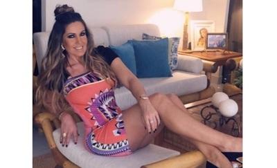 Lorena Arias aclaró que ella decide no exponer su vida en pareja