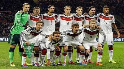 Alemania la nueva lider del Ranking FIFA, Paraguay en el puesto 48