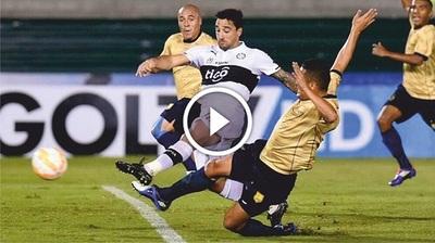 Olimpia vs Águilas Doradas (1-1) Goles Resumen Resultado Copa Sudamericana 2015