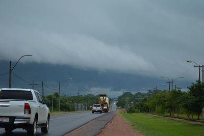 Alerta por posibles tormentas en seis departamentos