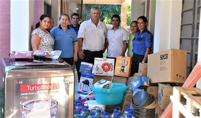 Continúa entrega de insumos para hospitales del distrito de Mariscal Estigarribia