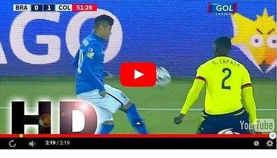 Colombia vs Brasil (1-0) Goles Resumen Resultado Copa América 2015