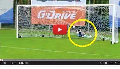 El increíble Hulk marca un gol supersónico (VÍDEO)