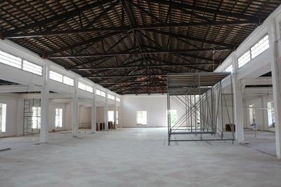 Prosiguen obras de restauración en histórico edificio del Puerto y Aduanas