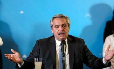 Alberto Fernández adelanta que Argentina no podrá pagar su deuda