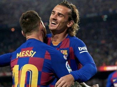 Griezmann dice que son falsas sus críticas a Messi y al club