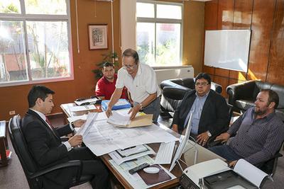 INDERT estudia caso de regularización de tierras en Puerto casado