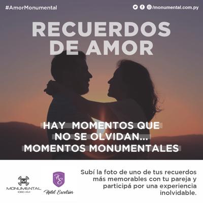 #AmorMonumental: Una foto memorable para una noche fantástica · Radio Monumental 1080 AM