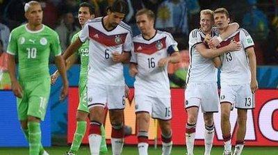 Alemania vs Argelia (2-1) Resumen y Goles Mundial Brasil 2014