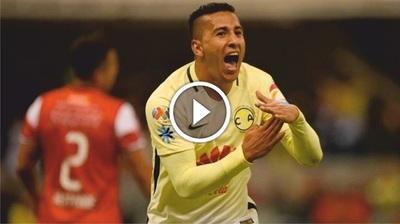 """Cecilio Domínguez debuta con un """"gol de palomita"""" en el América (Vídeo)"""