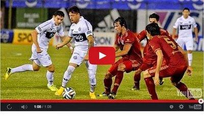 Olimpia vs 3 de Febrero (0-1) Goles Resumen Resultado Clausura 2014
