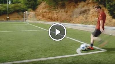 Retaron a Messi y este los dejó boquiabiertos a todos (Vídeo)