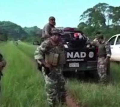 Incautan 321 kilos de droga en Amambay