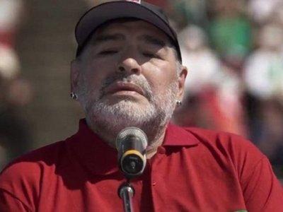 Diego Maradona participa en serie sobre los barrabravas argentinos