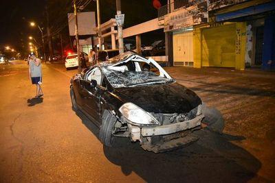 Cuádruple choque sobre Eusebio Ayala deja un herido