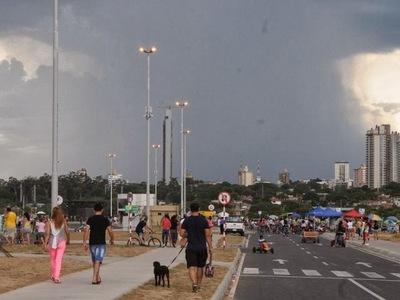 Miércoles caluroso y con probables lluvias, según Meteorología