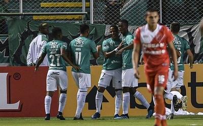 HOY / Deportivo Cali vence a River Plate en su debut internacional