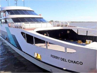 Ferry del Chaco anuncia la suspensión temporal de sus servicios