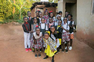 Niños de un coro africano ofrecerán show evangelístico en el Chaco