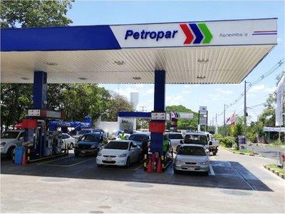 Petropar anuncia que no subirá el precio de sus combustibles