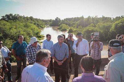 Mario Abdo anuncia obras y reivindica al gobierno de Stroessner