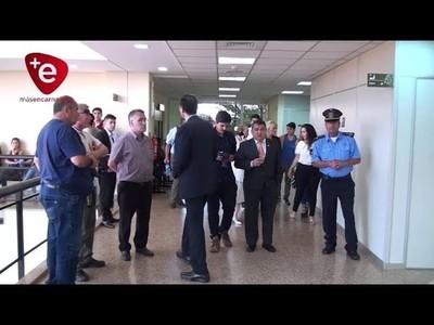 DESARROLLAN AUDIENCIA PRELIMINAR POR EL CASO DE ROBO E INCENDIO A LA MUNICIPALIDAD DE ENCARNACIÓN