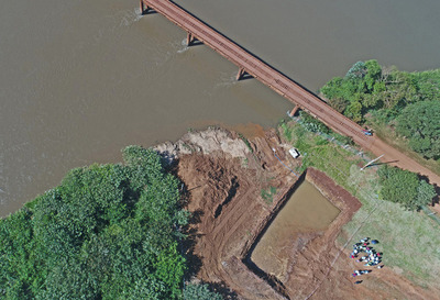 Construcción del puente sobre el río Monday empleará a casi 100 personas