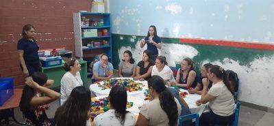 Iniciaron Club Lego para estudiantes de escuelas municipales