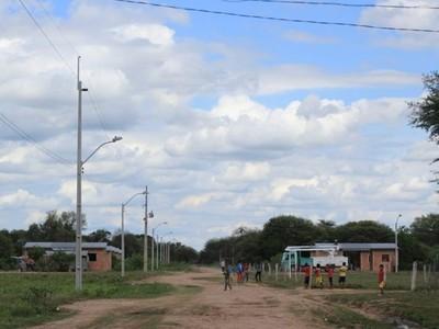 Comunidad indígena beneficiada con energía eléctrica por primera vez
