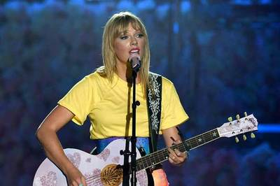 Taylor Swift es la artista que más sencillos vendió en la última década