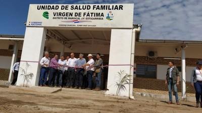Inauguran primera Unidad de Salud Familiar en la lejana comunidad de Virgen de Fátima