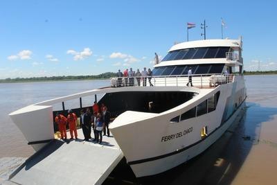 Este sábado concluye de manera exitosa primer ciclo del Ferry del Chaco