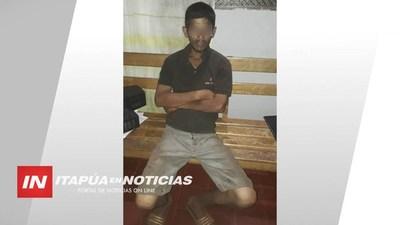 DETIENEN A OTRO SUPUESTO AUTOR DE VIOLENTO ROBO EN MIRANDA.
